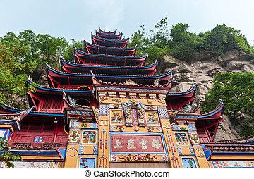 pagoda, shibaozhai