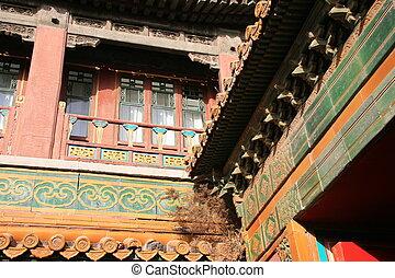 pagoda, szczegół