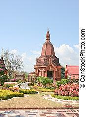pagoda, tailandia, tempio