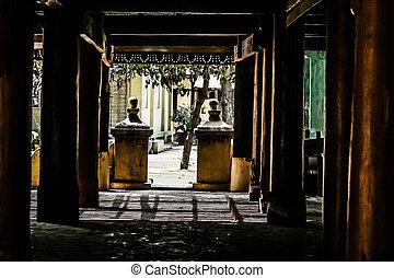 pagoda's, 彼の, 古代, bagan, ミャンマー