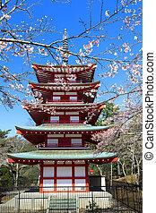 pagode, chureito