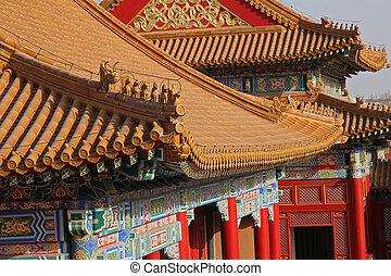 pagode, détail