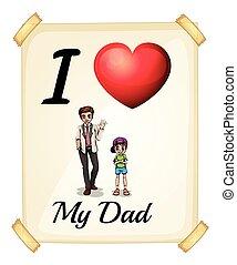 pai, amor, meu