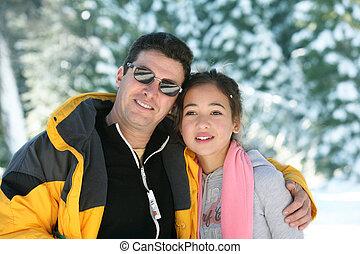 pai filha