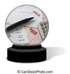 Paid Bills Crystal Ball