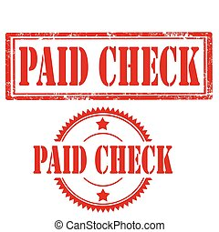 Paid Check-stamps