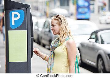 paiement, stationnement