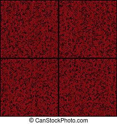 painéis, enferrujado, metal, vermelho