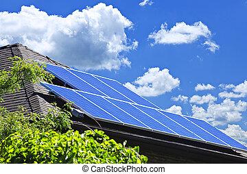 painéis, solar