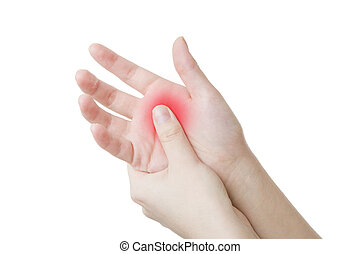 Pain in the hand