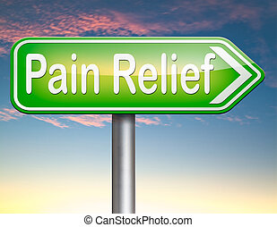 pain relief or management by painkiller or other treatment ...