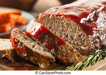 pain viande, fait maison, boeuf, terrestre
