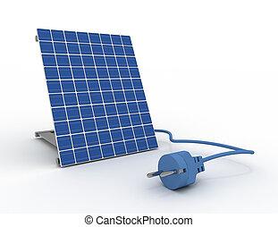 painel solar