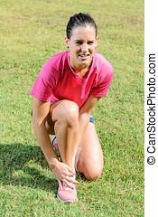 Painful Ankle Sprain