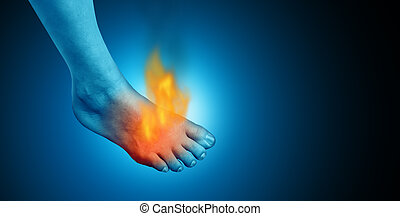 Painful Foot