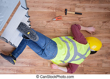 Painful worker after on the job injury - On the job injury...