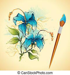 Painiting of Flower