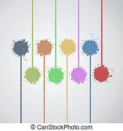 Paint art - Creative design of paint art
