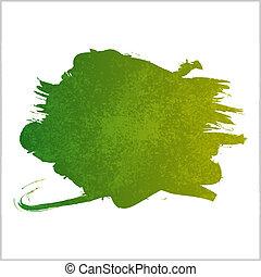 Paint Blot - Illustration showing a splash of paint. Eps10 ...