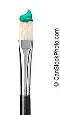 paint brush art and craft