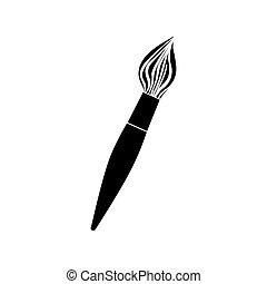 paint brush icon image
