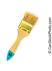 Paint brush isolated on a white background