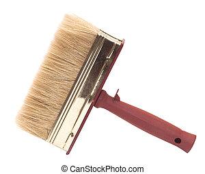 Paint brush isolated on white.