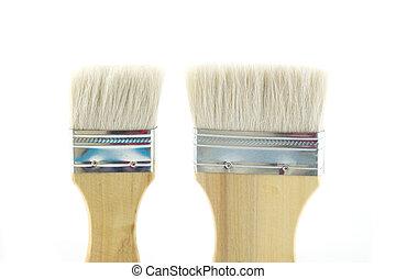 Paint brush isolated on white