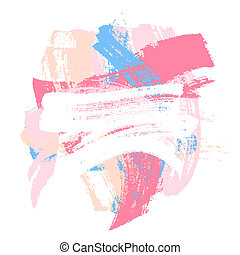 Paint brush strokes - Colorful paint brush strokes...