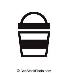 Paint bucket icon