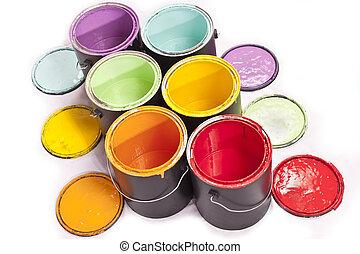 Paint Can Diagonal