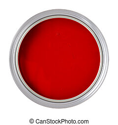 Paint Can isolated on white