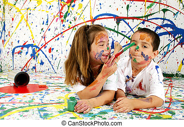 Paint Children