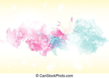 paint colorful splash abstract background. Vector