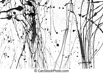 Paint Drips - o1 - Paint drips and splatters.