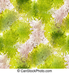 paint green gray watercolor seamless water color texture with spots and streaks art