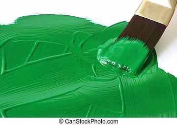 Paint it Green