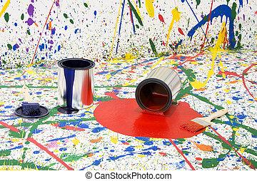 Paint Mess