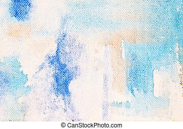 Paint on canvas