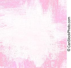 paint pink color for border or frame background