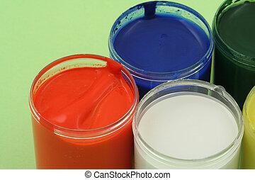 paint pots #3