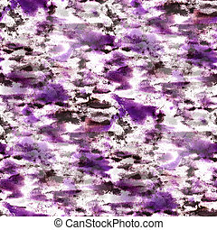 paint watercolor seamless water purple color texture with spots and streaks art