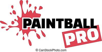 paintball, pro