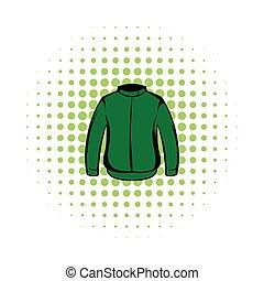 Paintball protective jacket comics icon