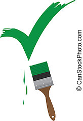 Paintbrush Check
