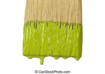 Paintbrush Dripping Paint