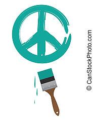 Paintbrush Peace