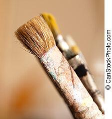 paintbrush used