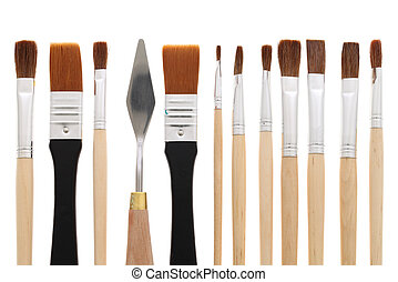 paintbrushes