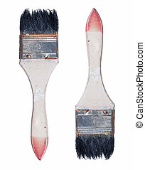 Paintbrushes, Stock image